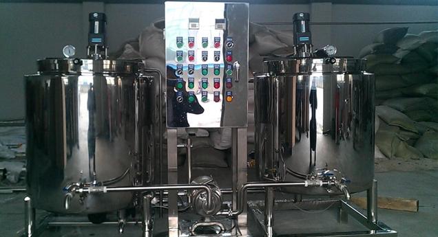 光明乳业(德州)集团——牛奶杀菌、储罐设备