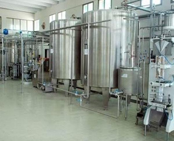 牛奶预处理生产线